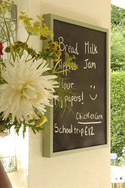 2nd chalkboard