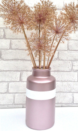 PlastiKote Rose Gold - large vase for SPI
