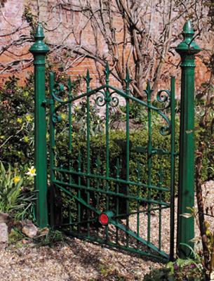 PlastiKote garden gate