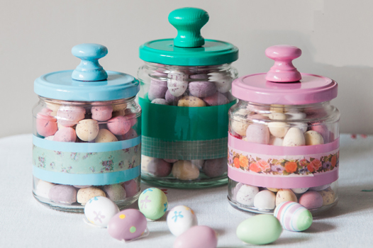 EAster jars after end of piece