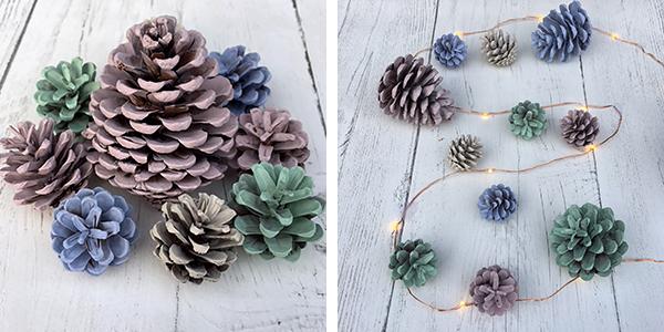 pastel cones