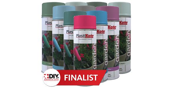 Garden Colours Group with DIY Week award logo