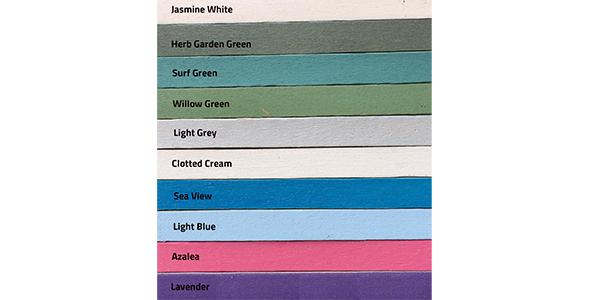 PlastiKote Garden colour chart
